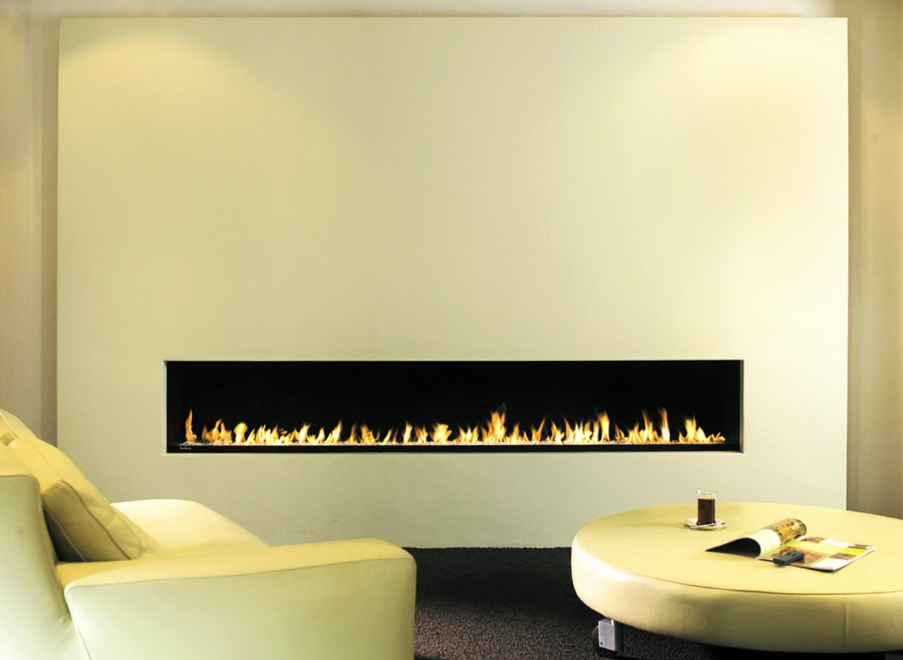 Wall Fireplace I Dancing Flame Fireplace I Ribbon Burner
