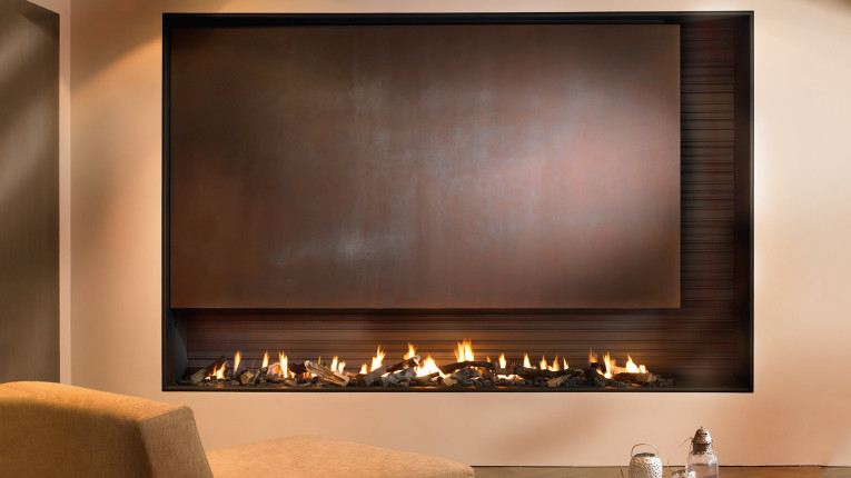 bespoke fireplaces in copper