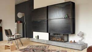 luxury Bfire fireplace