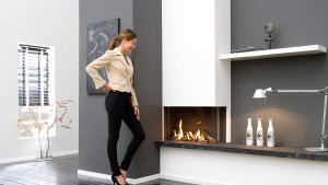 modern Bidore fireplace