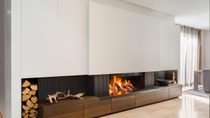 high efficiency gas fire