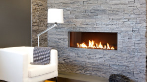 high efficiency hole in the wall gas fire