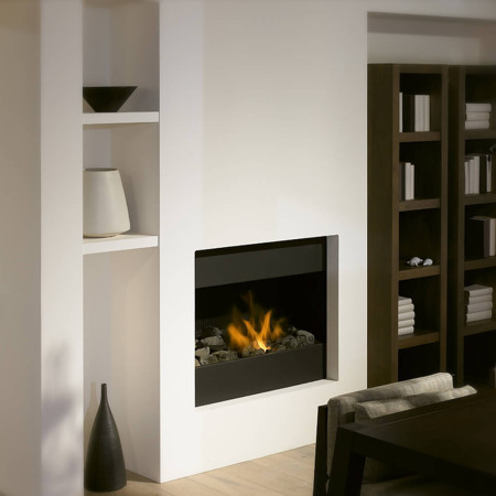 Mod95 Hole In The Wall Fireplace | High Efficiency Gas Fire