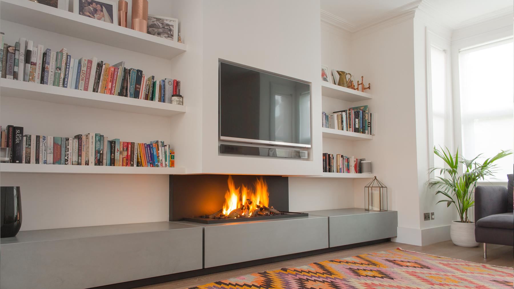 Contemporary Fireplace 572 tv contemporary fireplace i modern fireplace