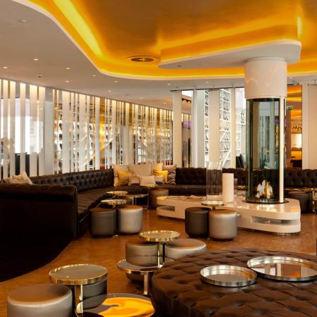 bespoke fireplace w hotel