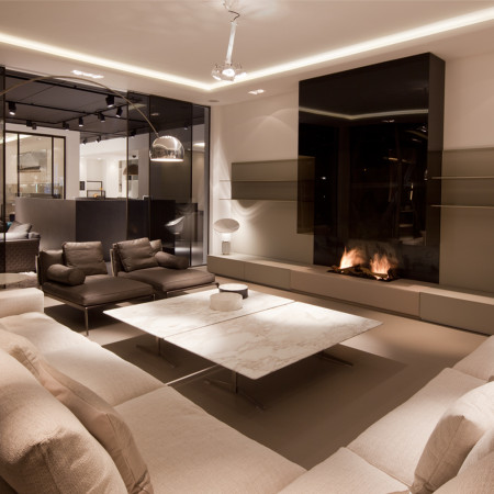 Bespoke fireplaces i tv above fireplace i designer fireplace for Luxury fireplace designs