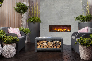outdoor hole in the wall fireplace