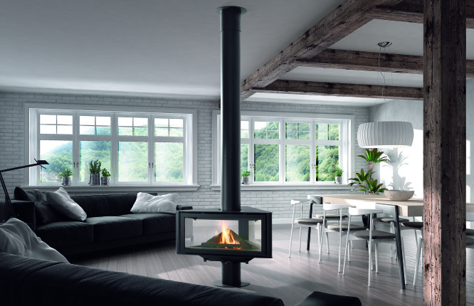 Modern gas fires can come in many different styles