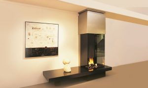 Three-sided Gas Fire