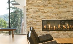 Modern designer fireplaces