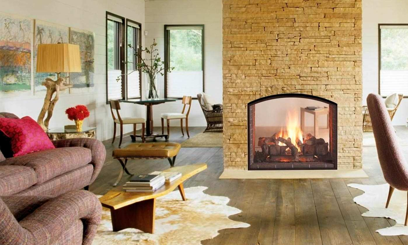 Advantages and Disadvantages of Double-Sided Fireplace