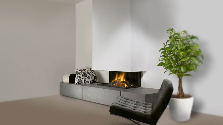 bespoke gas fire
