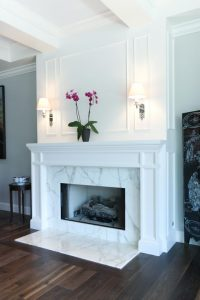 designer fireplaces - modern fireplaces - wall fire