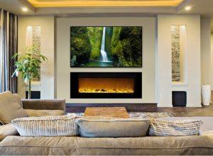 ethanol modern fireplaces - wall fire