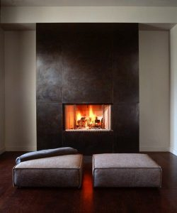 luxury fireplaces - modern fireplaces - wall fire