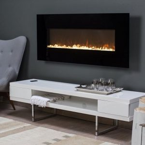 ethanol modern fireplaces - wall fire