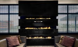 ethanol modern fireplaces - wall fire - hanging fire