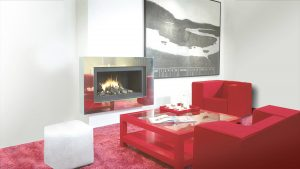 electric designer fireplaces - modern fireplaces - wall fire
