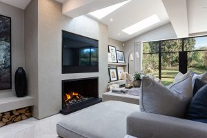 Bespoke-moder-gas-fire - modern fireplace