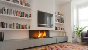 design-fusion - modern fireplaces - wall fire