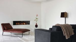 neat-and-simple - wall fire - modern fireplaces
