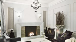 A Direct Vent Fireplace - modern fireplaces