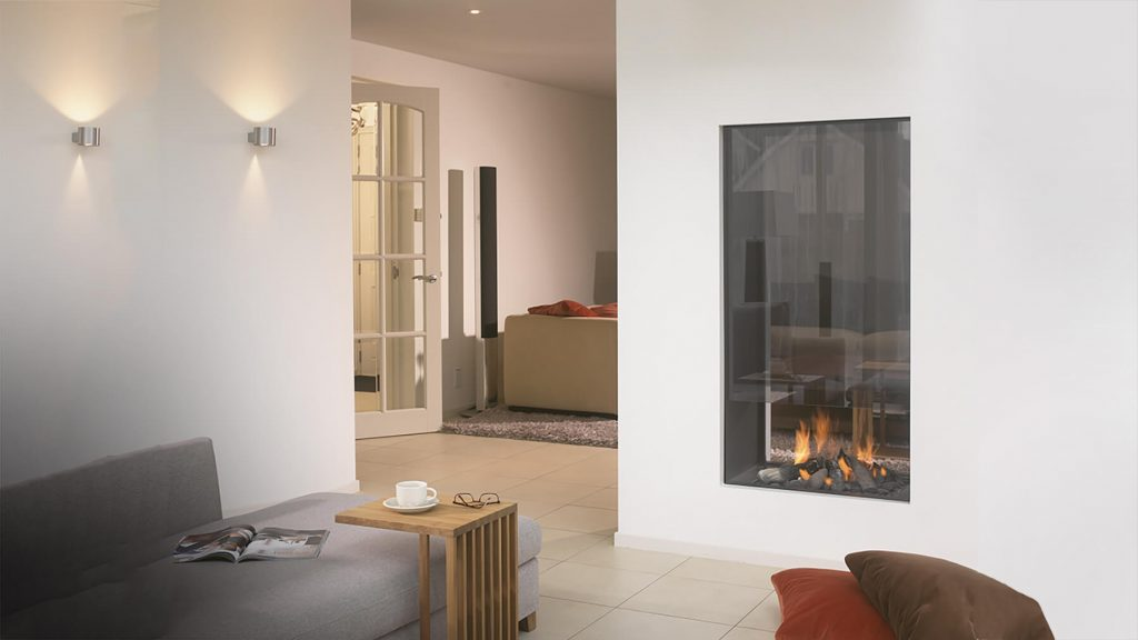 Fact 1 An Energy-Saver designer fireplaces