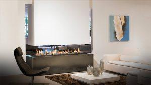 Practically Maintenance Free - modern fireplace