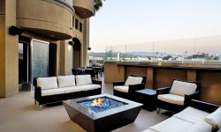 Open Fireplace Outdoor