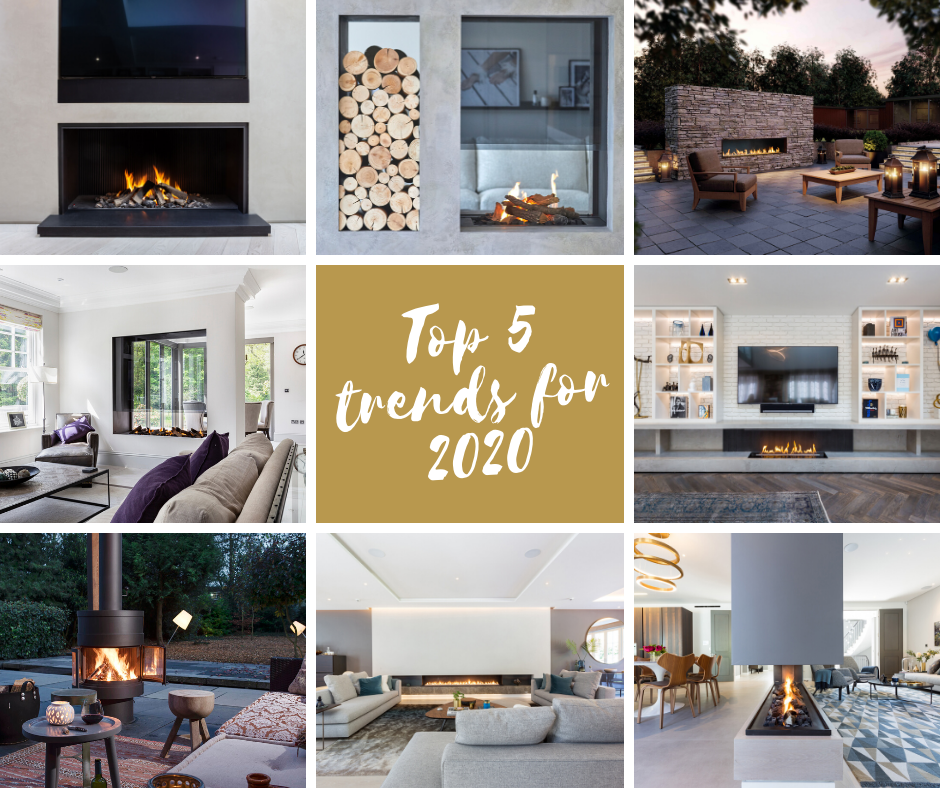 Modus Fireplaces - Top 5 Fireplace Trends for 2020